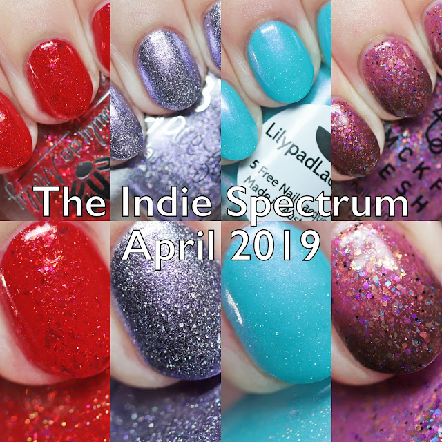 The Indie Spectrum Box April 2019