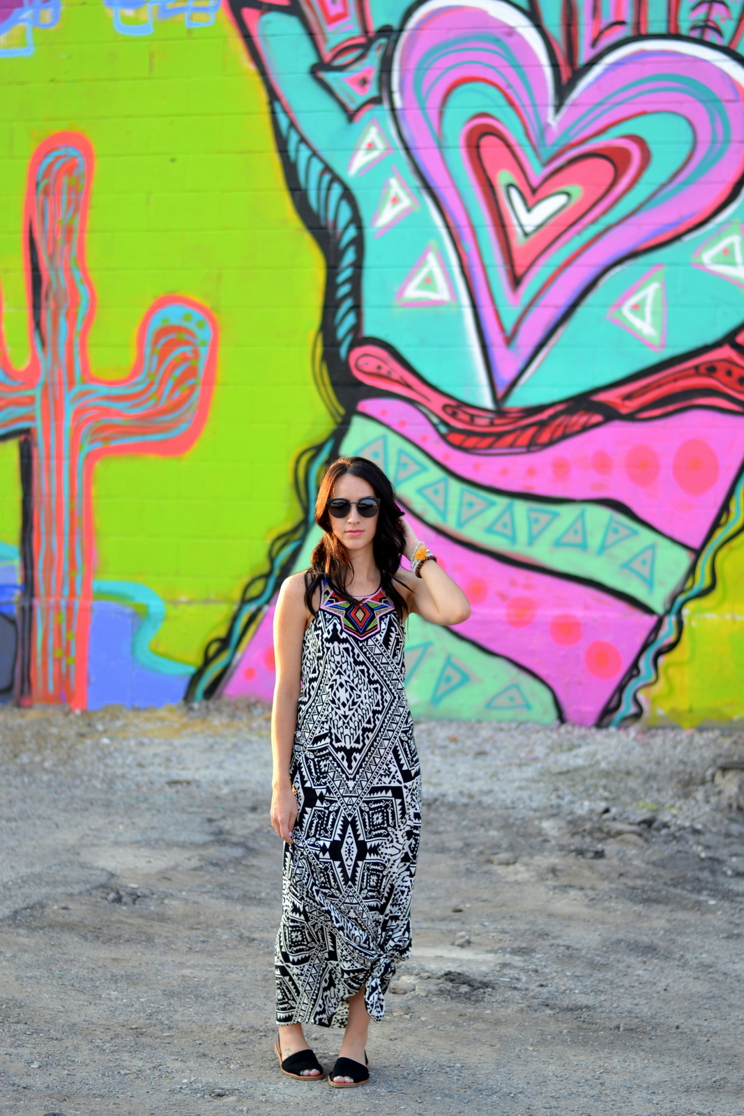 Summer Patterned Maxi