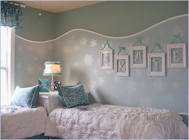 decorative snowflakes  Frozen Elsa Peel and Stick Giant Wall Decals    penguin bedrooms - polar bear bedrooms - arctic theme bedrooms - winter wonderland theme bedrooms - snow theme decorating ideas - penguin duvet covers - penguin bedding - winter wonderland party ideas - Christmas