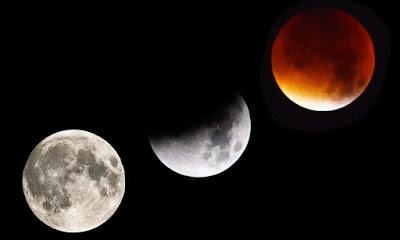 Siêu mặt trăng máu xanh xuất hiện ngày 31/01/2018.
