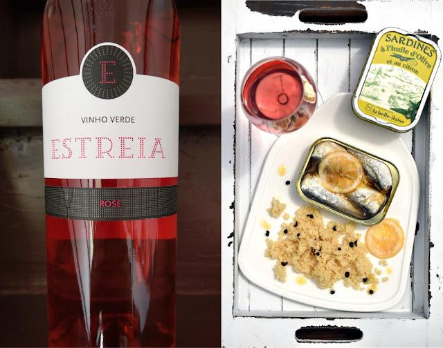 Vinho Verde mit Sardinen und Couscous