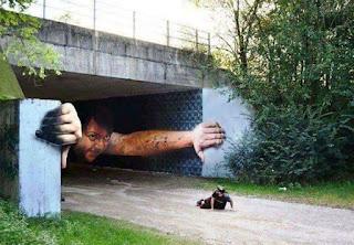 Seni gambar grafiti jalanan yang bikin takjub banyak orang ...