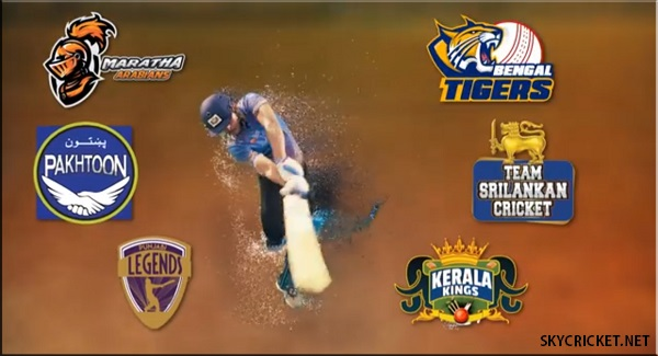 T10 Cricket League 2017 TV Channels
