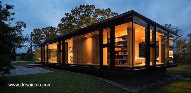 Residencia moderna de estilo Contemporáneo en Estados Unidos
