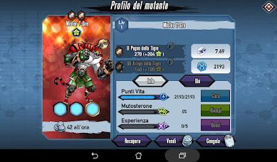 Mutants: Genetic Gladiators Breeding video N°497 (Mister T-ger - Beast # Mister T-gre - Belva)