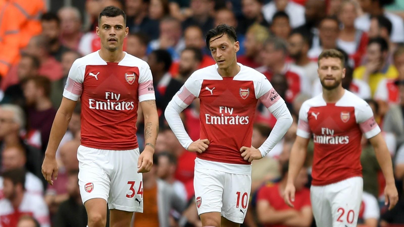 #Englishpremierleague Season 2018/2019 Full Time Arsenal 0