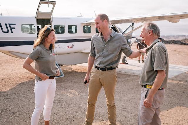 William w Namibii i Tanzanii