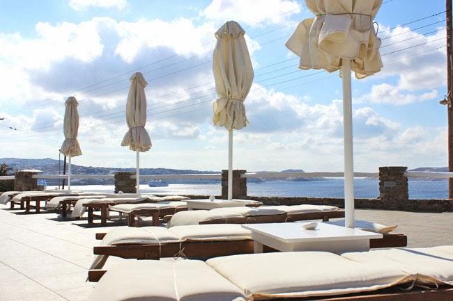 Mykonos hotel pools