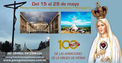 PEREGRINACIÓN: Santuarios Marianos y Medjugorje. Mayo 15 al 29