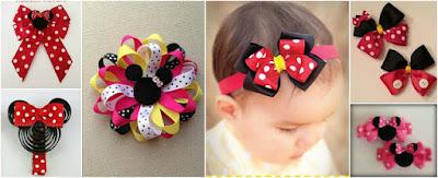 pasadores-moños-cabello-Minnie Mouse