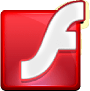 Adobe Flash Player logo, icon