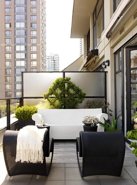 The Room: Balcony Inspiration - Tiny Condo Patio