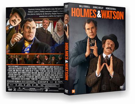 CAPA DVD – Holmes & Watson – AUTORADO