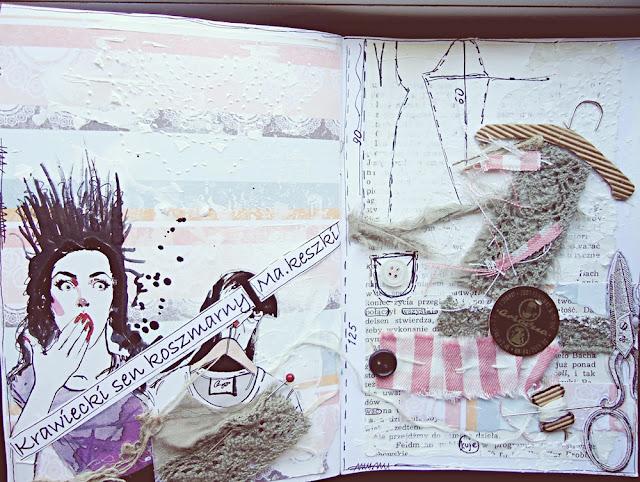 journaling, koszmarny sen