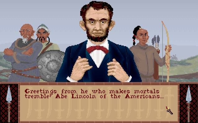 Screenshot of Sid Meier's Civilization - Abraham Lincoln