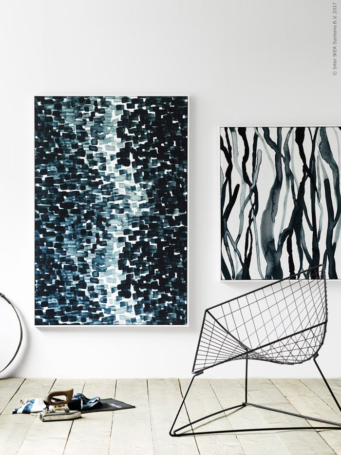 Last year we did a post on how to hang an art like an ikea stylist which featured inspiration from from the stylists at ikeas blog livet hemma
