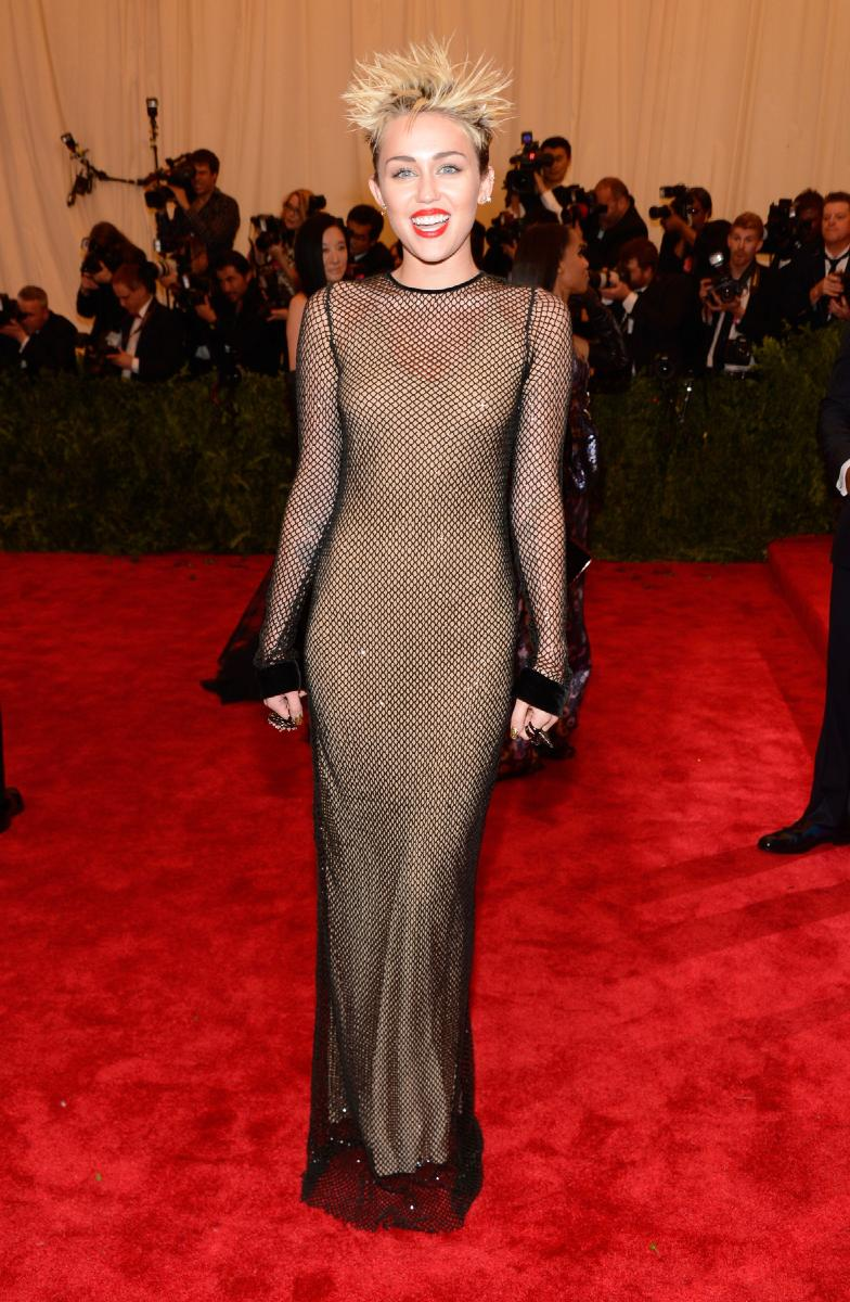 See Celebrities Wearing Her: Worked Her Dress Or Looked A Mess: The Met Gala 2013