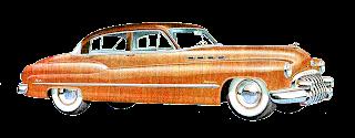 vintage car image buick illustration