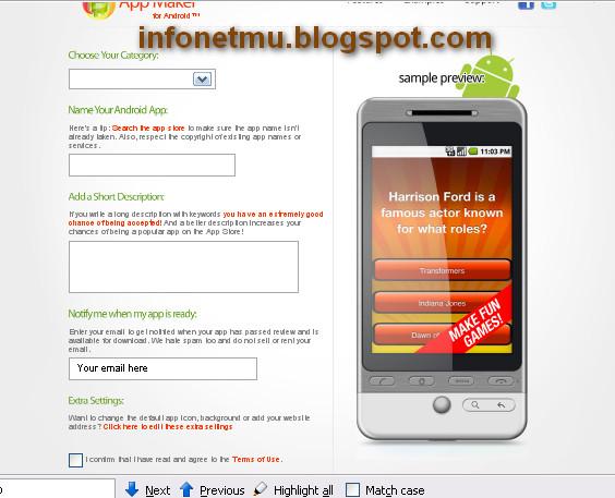 Tips Membuat Aplikasi Android Secara Online