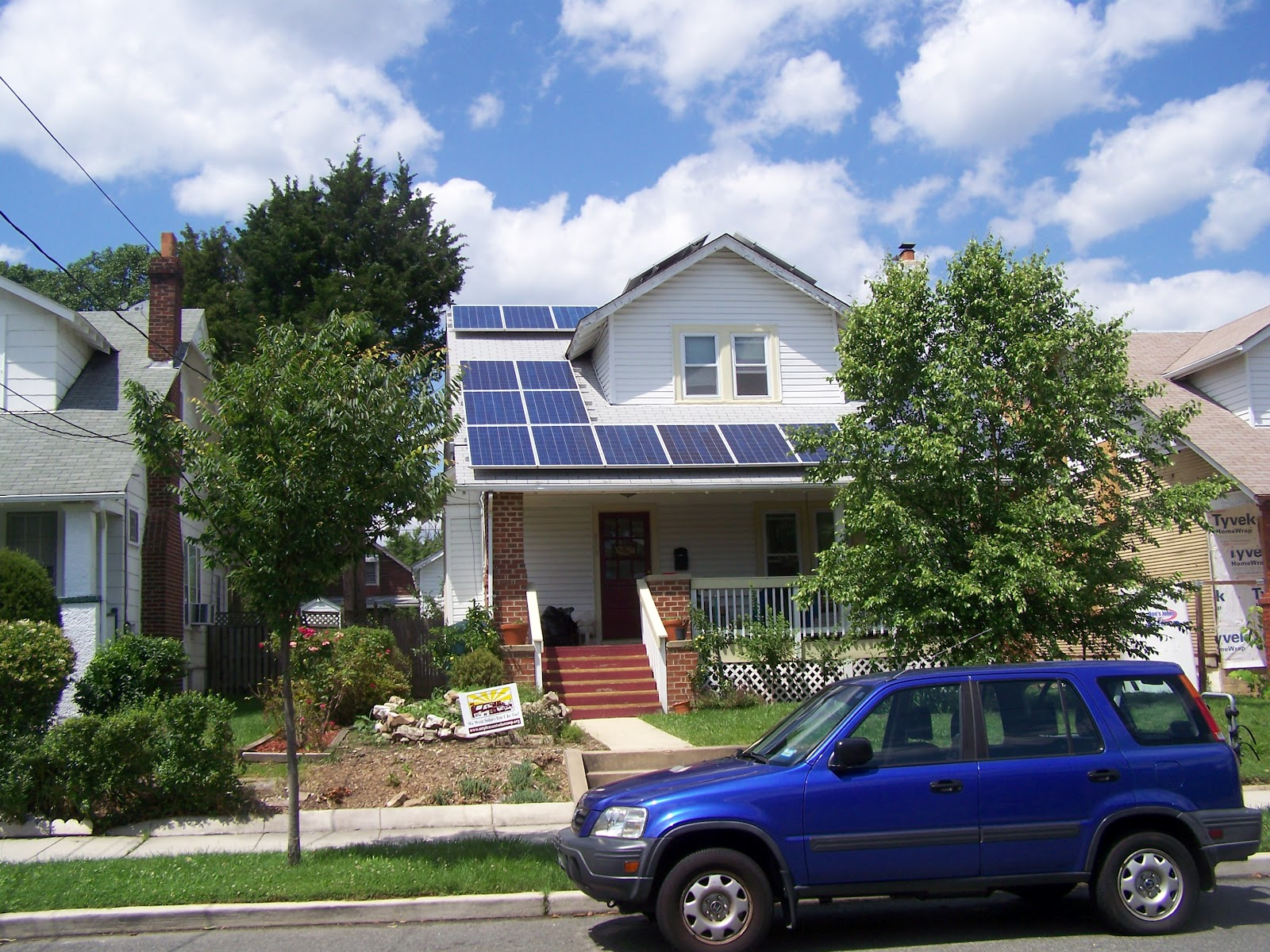 Rebuilding Place In The Urban Space Solar Panels And