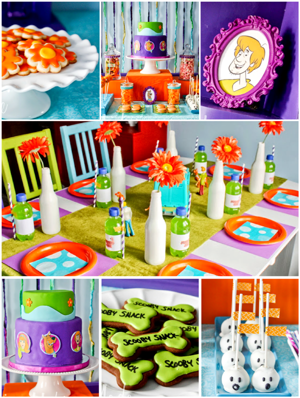 A Scoody-Doo Inspired Birthday Party - via BirdsParty.com