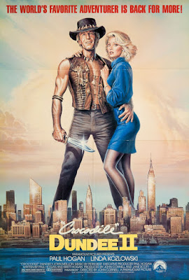 Crocodile Dundee II Poster