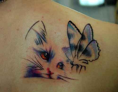 kedi dövmeleri cat tattoos 2