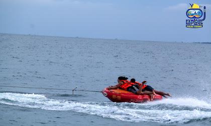wisata dan permainan air pulau tidung