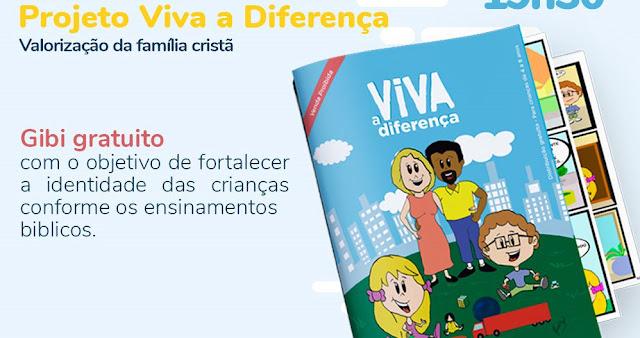 Convenção Batista Brasileira entra na luta contra a ideologia de gênero e lança gibi educativo para crianças