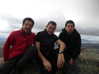 De izqda. a dcha.: Taber, Nacho y Pablo