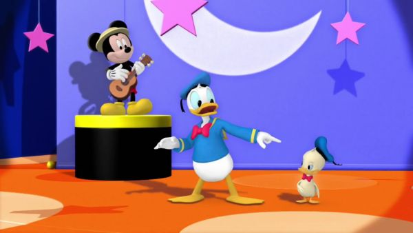 DONALD DUCK: That's me and my Junior!