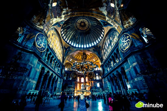 4.) Hagia Sophia, Turkey - The 19 Most Stunning Sacred Places Around the World