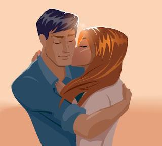 صورة عن الحب: قبلة مرسومة