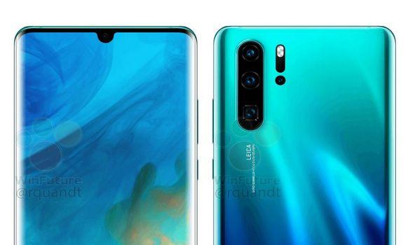 تسريب صور هاتف Huawei P30 قبل الاعلان الرسمي !!