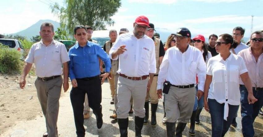 Gobierno hace esfuerzos para rehabilitar colegios afectados por lluvias en Lambayeque, informó el ministro de Educación, Daniel Alfaro