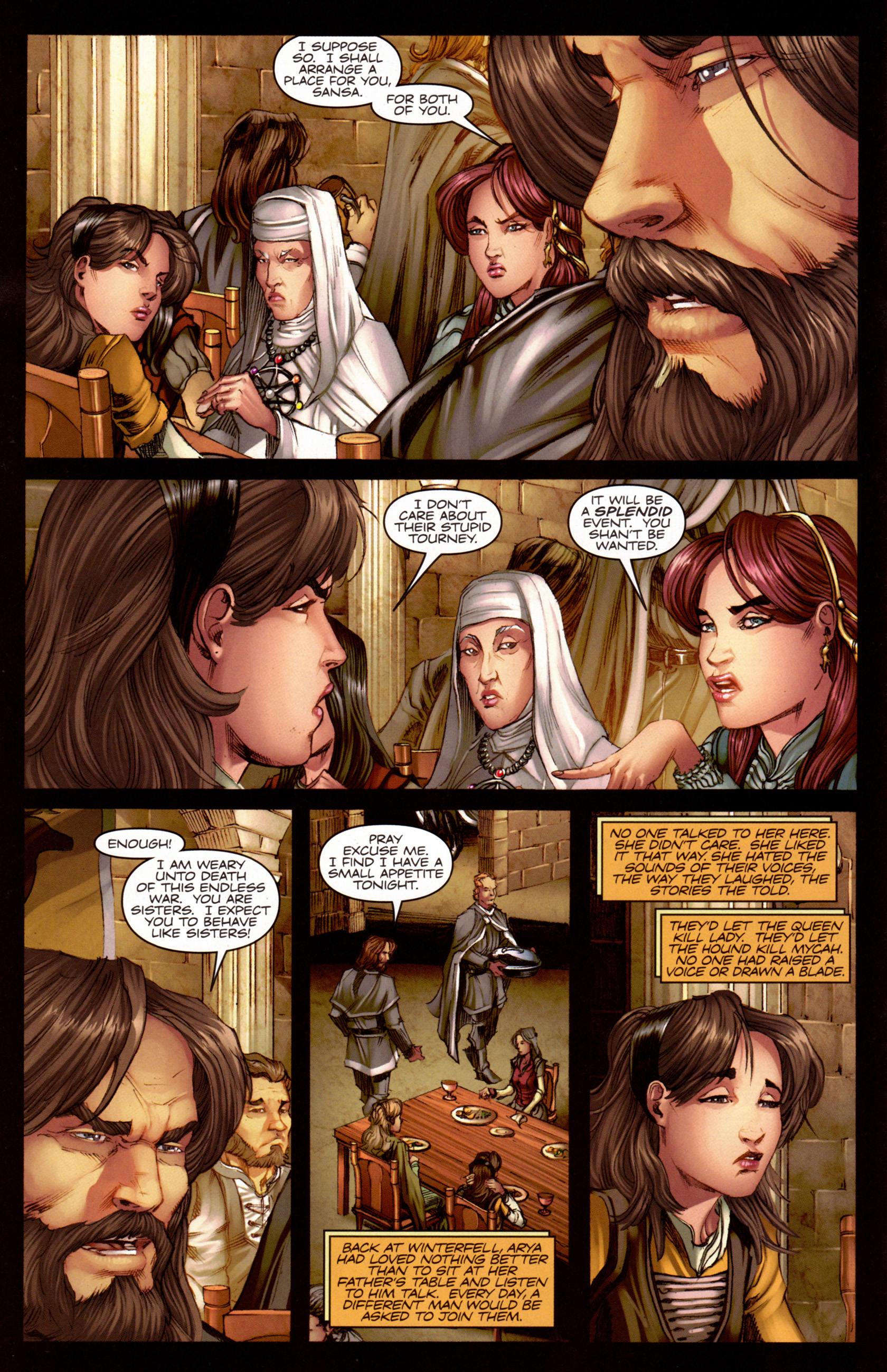 Read online A Game Of Thrones comic -  Issue #7 - 13