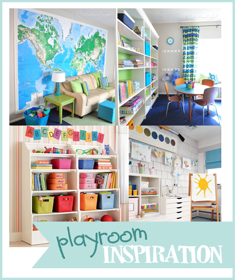 Children S And Kids Room Ideas Designs Inspiration: Naturally Creative Mama: Playroom Organization Inspiration
