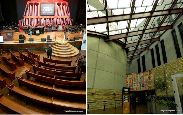 Nashville: Ruman Auditorium e Country Music Hall of Fame