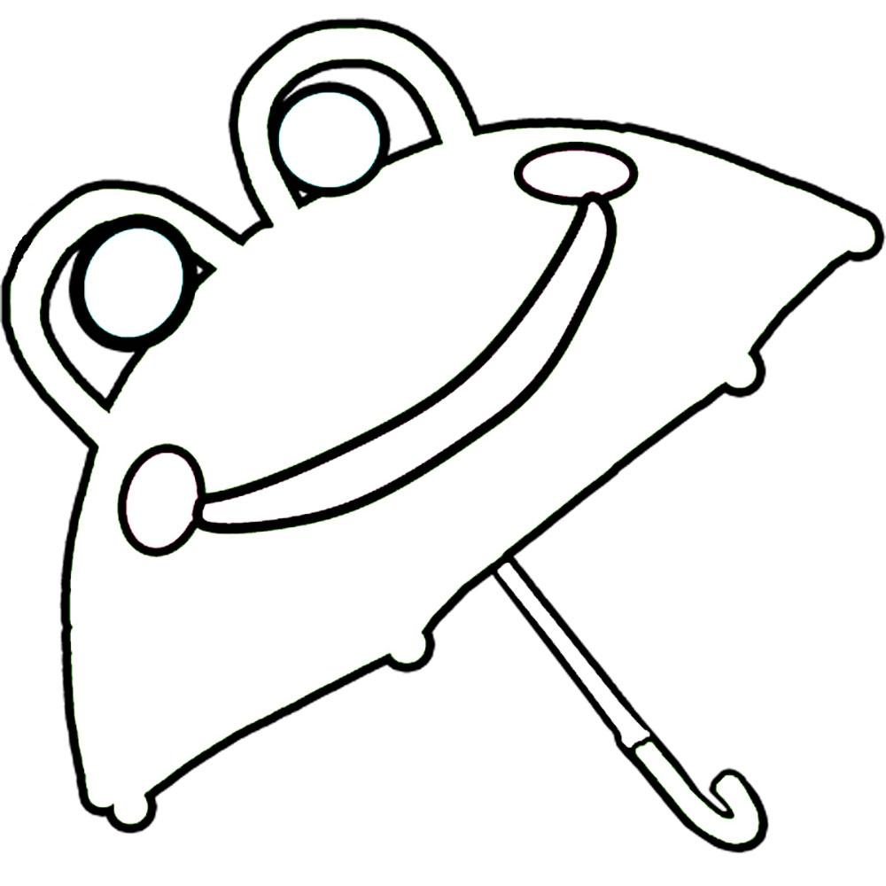 Gambar Mewarnai Payung 11