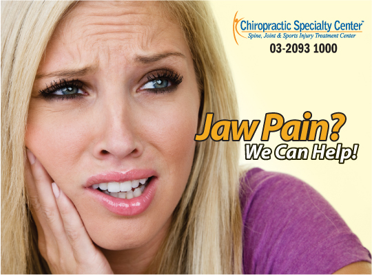 jaw disorder is a common cause of ear pain, tinnitus and Meniere's disease