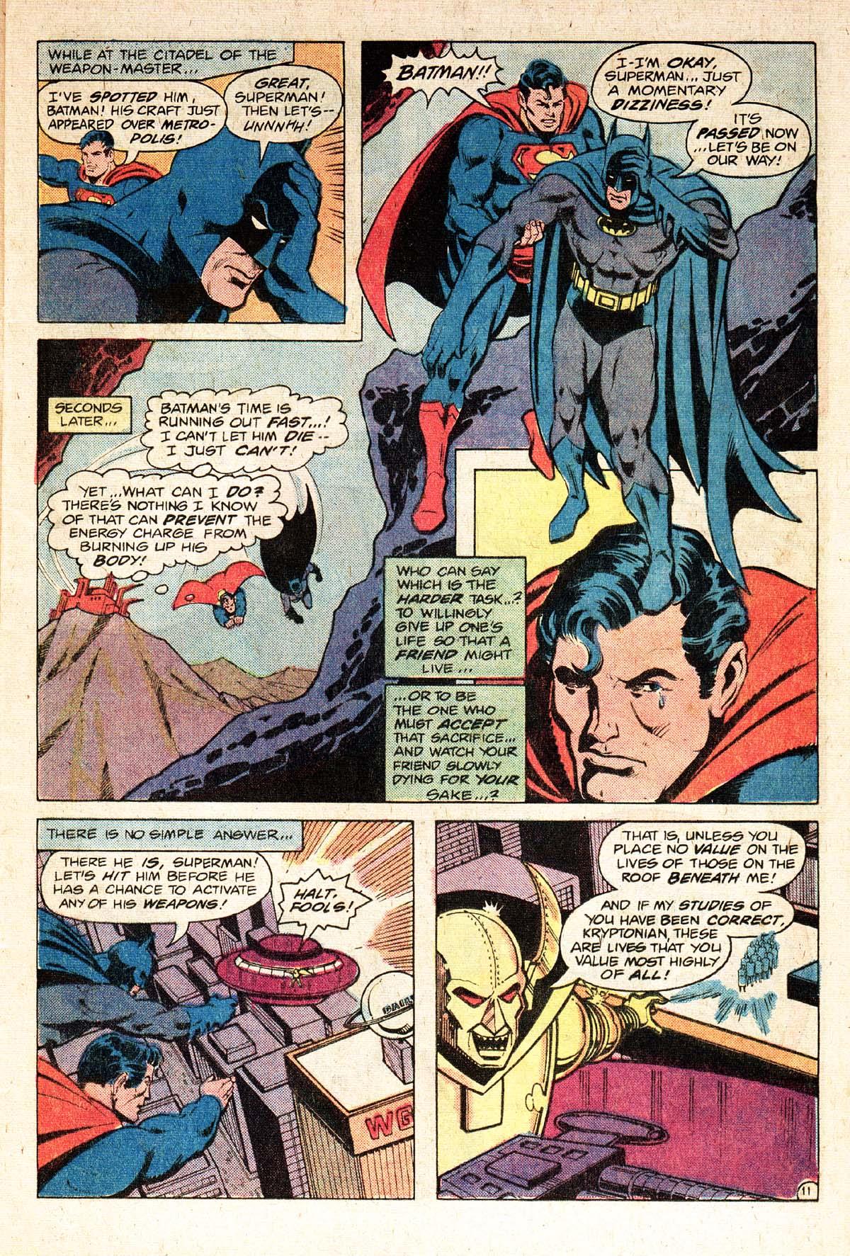 Read online World's Finest Comics comic -  Issue #274 - 13