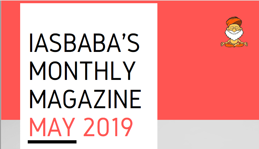 iasbaba Current Affairs May 2019