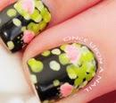 http://onceuponnails.blogspot.com/2014/10/water-lilies.html
