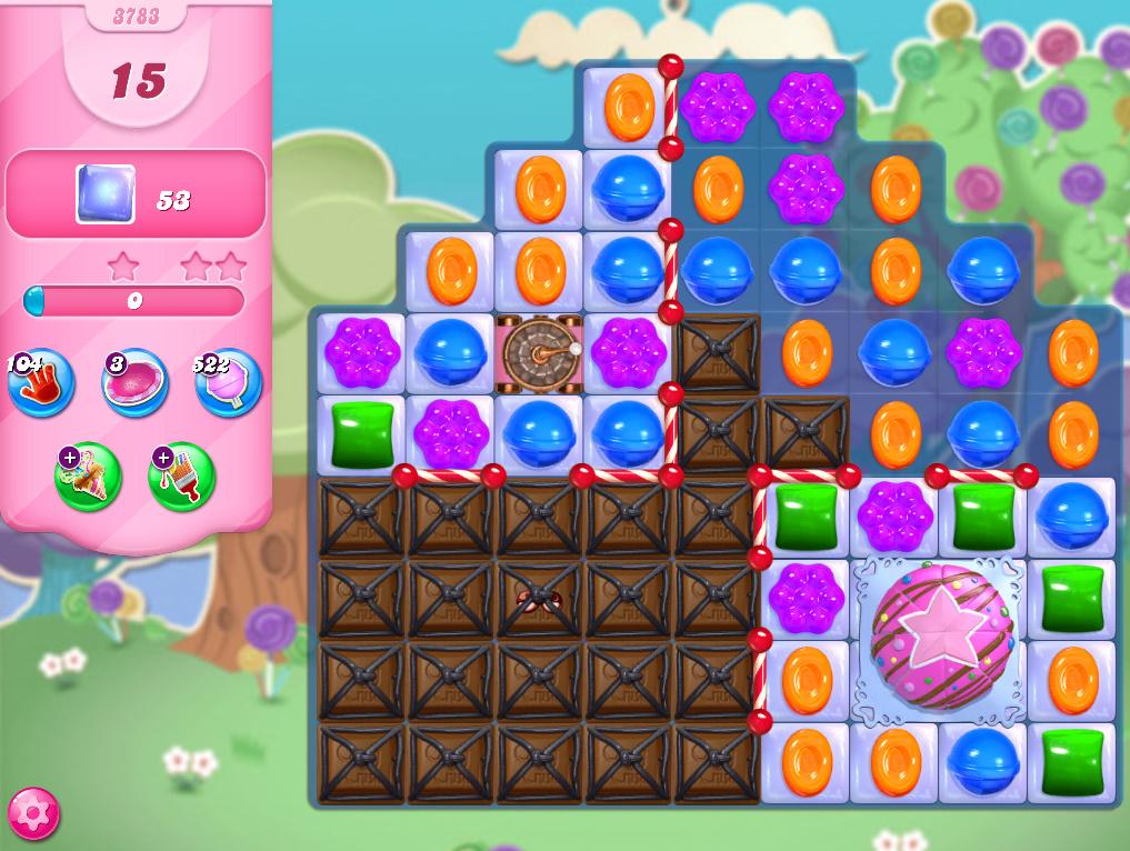 Candy Crush Saga level 3783