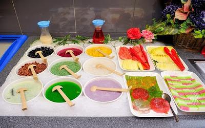 Seoul Garden Buffet Dessert Selection