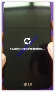 factory reset processing - lg f60 metro pcs