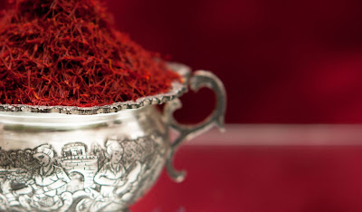 Saffron,the most expensive spice of Iran,you can bring back as souvenir