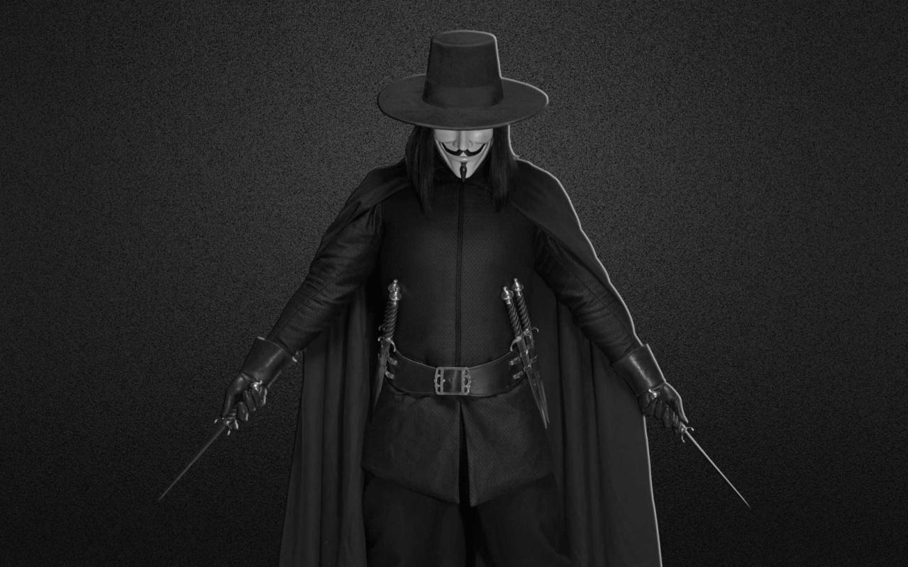 wallpapers 242 : V for Vendetta