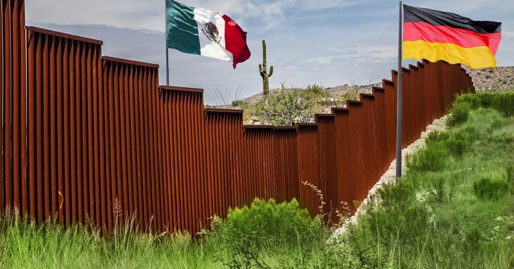 der postillon vorbild trump afd fordert ebenfalls mauer an grenze zu mexiko. Black Bedroom Furniture Sets. Home Design Ideas