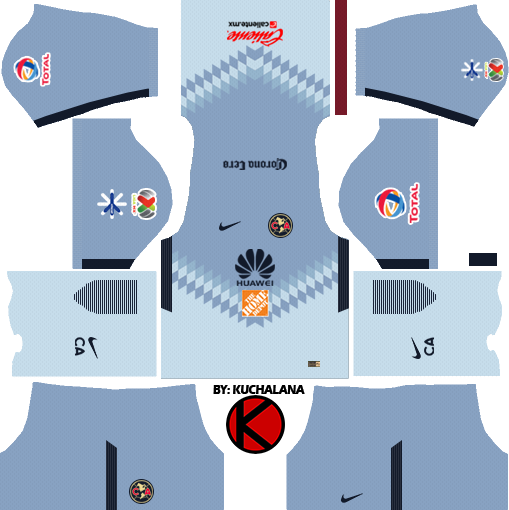 club am rica kits 2017 2018 dream league soccer kuchalana
